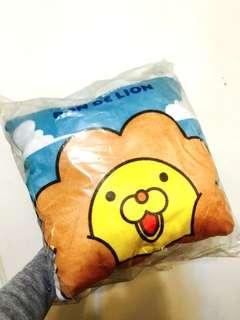 🚚 奶油獅 Mister Donuts 抱枕 枕頭 藍