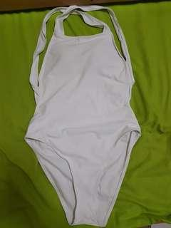 White Onepiece Swimsuit