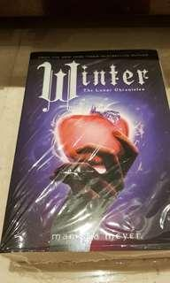 Winter. The lunar chronicles by Marissa Meyer