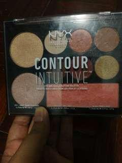 Nyx contour intuitive eye and face sculpting palette