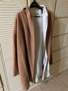 日本買既淺啡色長外套