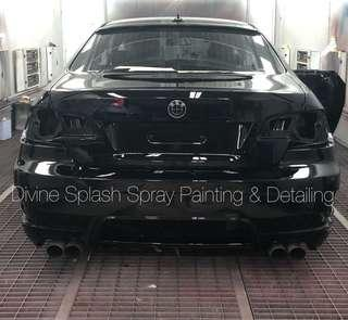 Car Spray Painting - get ready for Cny!