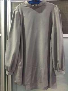 Poplook Top in Grey