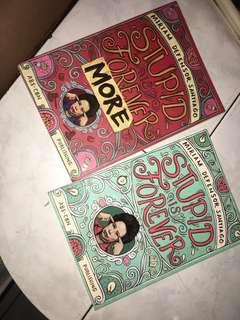 STUPID IS FOREVER BOOK 1 &2 by MIRIAM DEFENSOR
