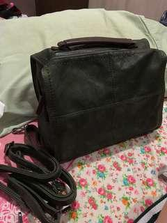 LEATHER BACKPACK - Brand new with tag
