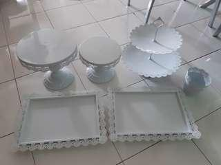 For rent and sewa - Cake Stand set