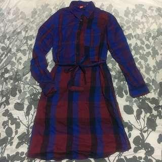 Joe Fresh plaid dress