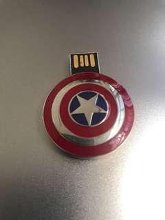 BN free mail 32GB captain America shield usb