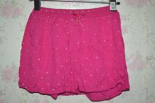 Pink skorts // skirt eith shorts