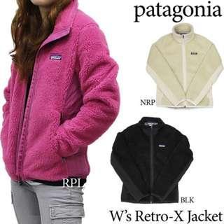 全新 Patagonia Women's Retro X Jacket Size XS 防風內層 保暖防風一件過 滑雪