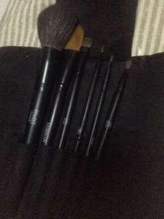 Topshop brush set