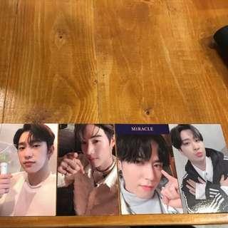 WTT / WTS Got7 Present You & Me photocards