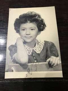 Petrina Fung Bo Bo 冯宝宝 Autographed Photograph