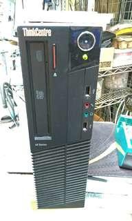 Lenovo i5-3550 4G 全新120G SSD 企業用電腦連原裝正版win10