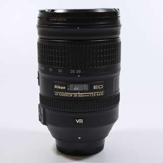 Excellent Condition Nikon 28-300mm F3.5-5.6 lens(850sgd)