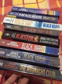 James Patterson Bundle of 8 Books