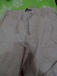 Celana cewek giordano *slim tapered ankle length*