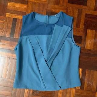 Paris Blue Blouse