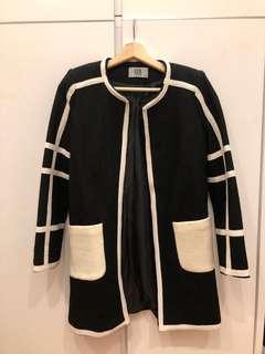 女裝黑色中褸 black coat