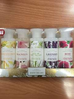 Mark & Spencer Floral Collection Bath Creams 75ml #BEAUTY50