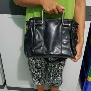 Tas Murah Berkualitas / Black Sling Bag #paydaymaret