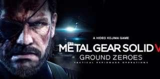 Steam METAL GEAR SOLID V: GROUND ZEROES 潛龍諜影5 原爆點 PC正版 原價429