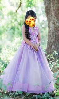 Kids Gown for 7yrs old