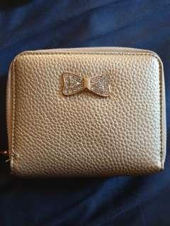 Double Zippered Med Wallet