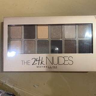 Maybelline the 24k nudes eyeshadow pallete
