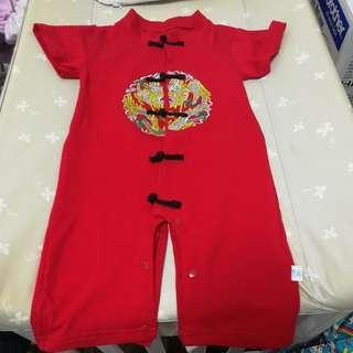 Bnip baby cny romper size 90 (18 to 24months)