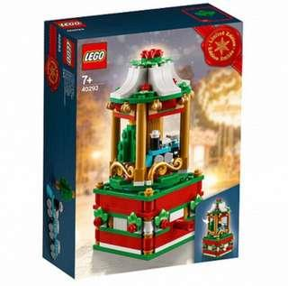 Lego Christmas carousel (42093)