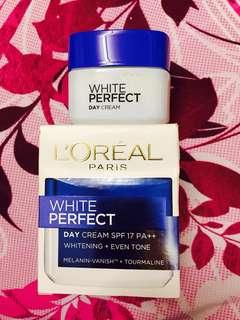 Loreal 💯 white perfect day cream👍🏼
