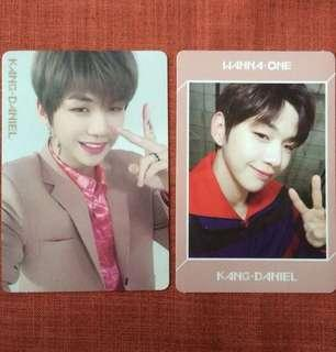 Wanna One Kang Daniel Official Photocard