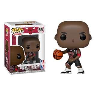 Funko Pop - NBA Basketball - Michael Jordan Chicago Bulls Black Uniform