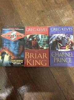 Greg Keyes Bundle of 3 Books