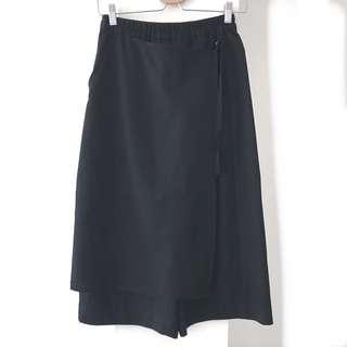 5 CM I.T. Wide Culottes With Adjustable Crossover Front Flap