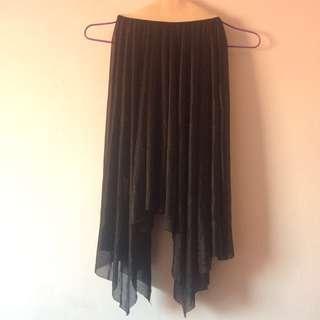 Black pixie skirt