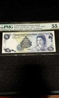 Currency Board Cayman Island $1 DOLLAR (AU)