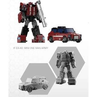 [Pre-Order] Iron Factory IF-EX40 Mini One Man Army