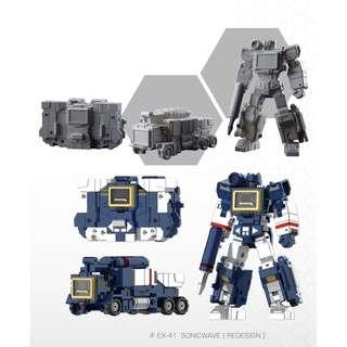 [Pre-Order] Iron Factory IF-EX41 Sonicwave