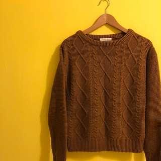 🚚 限時降價》日牌Lowrys farm麻花編織毛衣