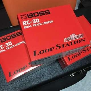 🚚 [IN STOCK] BOSS RC-30 LOOPER