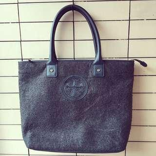 TORY BURCH FELTED WOOL TOTE BAG