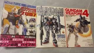 Bandai gunpla HG MG PG Gundam Weapons V Gundam (170頁厚裝) 系列 模型 雜誌 日文版 四本