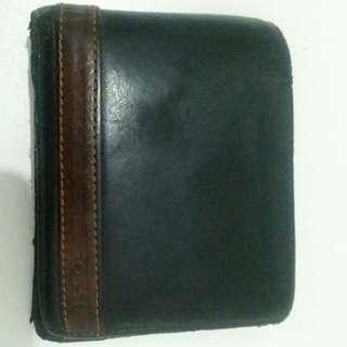 Dompet Leather Fossil