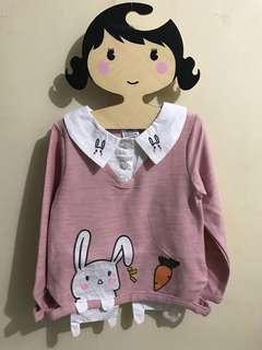 女童長袖衫