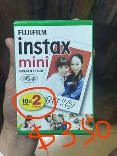 🚚 已預訂[2020/6到期]Fujifilm拍立得空白底片📷1盒2捲共20張底片