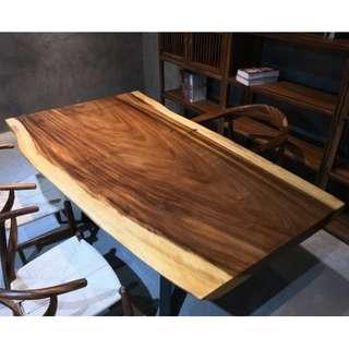 TSAW 037 South America Walnut Solid Wood Table office dining