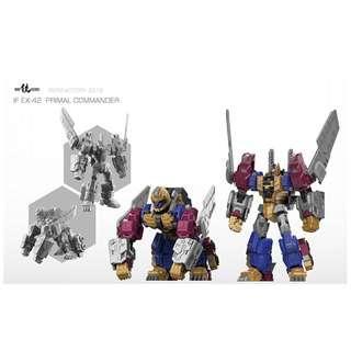 [Pre-Order] Iron Factory IF-EX42 Primal Commander