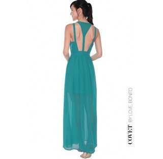 BNWT Love, Bonito Covet Melrose Cut-out Maxi Dress